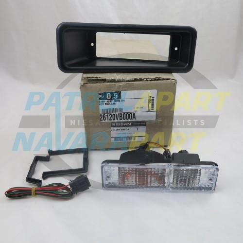Genuine Nissan Navara D22 Alloy BullBar Indicator Light RH