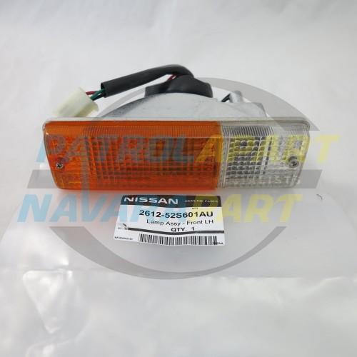 Genuine Nissan Navara D22 D40 Steel BullBar Indicator Light LH