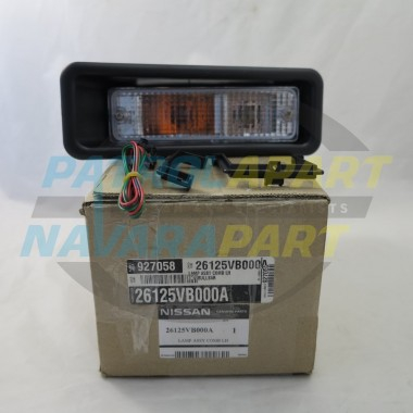 Genuine Nissan Navara D22 Alloy BullBar Indicator Light LH