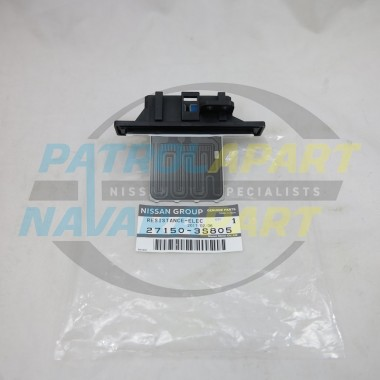 Genuine Nissan Navara D22 Heater Fan Resistor