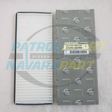 Genuine Nissan Navara D40 Thai YD25 Cabin Pollen Air Filter