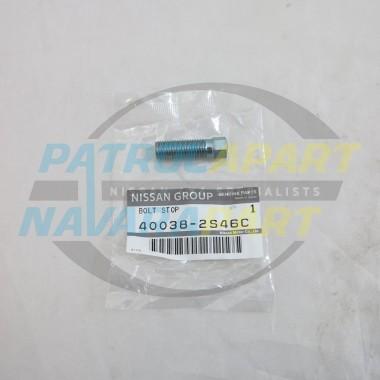 Genuine Nissan Navara D22 2WD Steering Lock Stop Bolt
