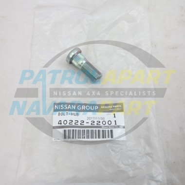 Genuine Nissan Navara D22 Front Wheel Stud