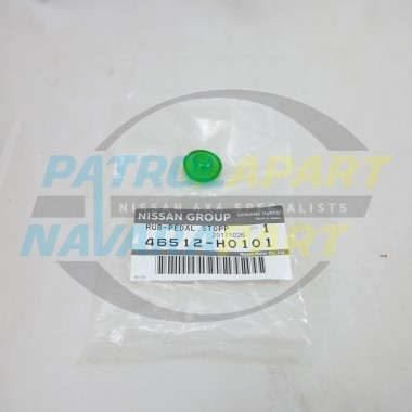 Genuine Nissan Navara D22 Brake Pedal Stopper Pad 1997 - 2015