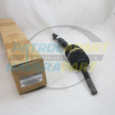 Genuine Nissan Navara D40 R51 Lower Steering Columm Shaft