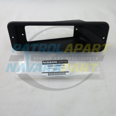 Genuine Nissan Navara D22 D40 Steel BullBar Light Surround L / R
