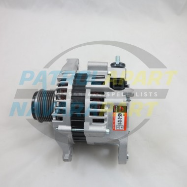 100amp Alternator with Clutch Pulley for Nissan Navara D22 ZD30