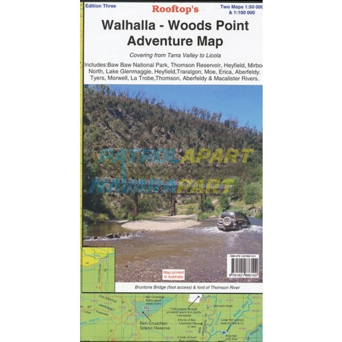Walhalla - Woods Point Rooftop Adventure Map