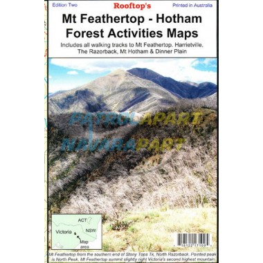 Mt Feathertop / Mt Hotham Forest Activities Map - Rooftop