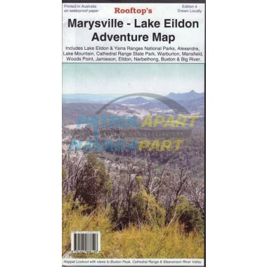 Marysville - Lake Eildon Rooftop Adventure Map