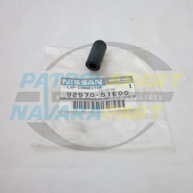 Nissan Navara D22 Genuine Heater Hose Blanking Cap