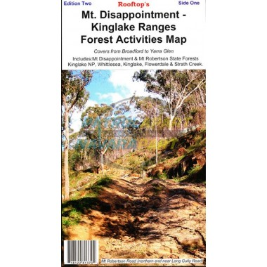 Mt Disappointment - Kinglake Ranges Forest Activity Rooftop Map