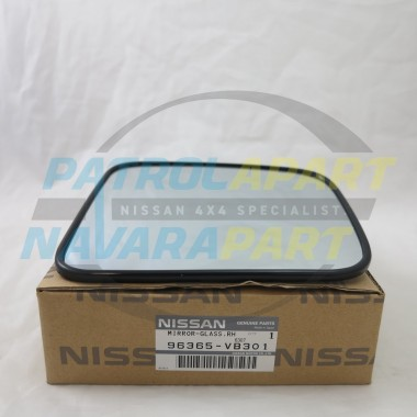 Genuine Nissan Navara D22 RH Mirror Glass