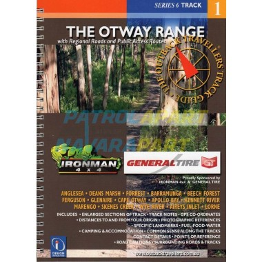 Map Book The Otway Range Outback Travellers Track Guide