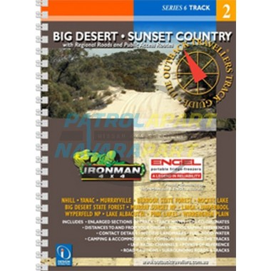 Map Book Big Desert - Sunset Country Outback Traveller's Track Guide