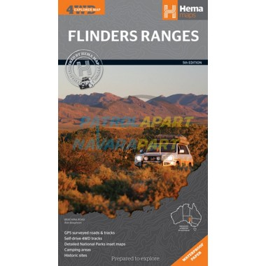 Flinders Ranges South Australia Hema Map