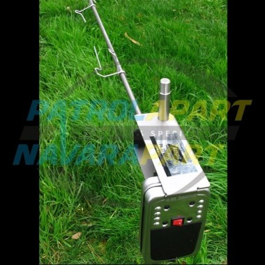 Auspit Stainless Steel Rotisserie Spit Kit for Camping & 4wding