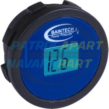 Baintech Volt meter Flush Mount suit Nissan Navara Pathfinder