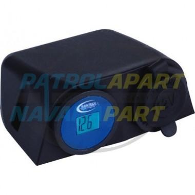 Baintech LCD Meter+Engel Surface Mount suit Nissan Navara Pathfinder