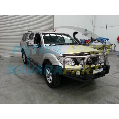 Nissan Navara D40 Clearview Chrome Towing Mirrors with Indicators