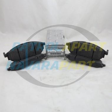 Genuine Nissan Navara D40 STX-550 Spanish V9X Front Brake Pads