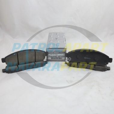 Genuine Nissan Navara D40 R51 VQ40 YD25 Front Brake Pads