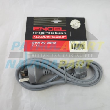 Genuine Engel Lead Cord K Type AC 240v C D E F Series Fridges