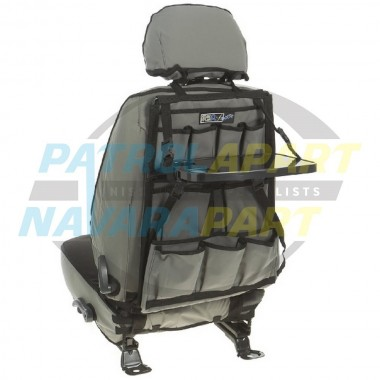 MSA Seat Organiser with Table suit Nissan Navara D22 D40 D23