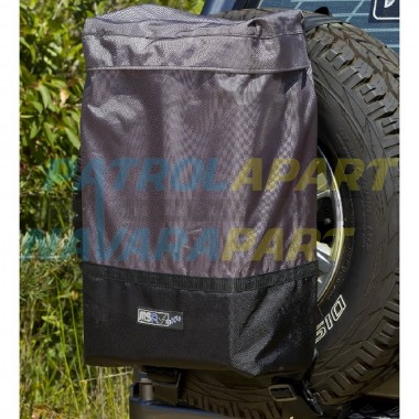 MSA Rear Wheel Rubbish Bin