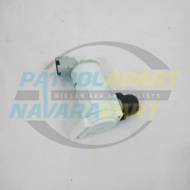 Nissan Navara D22 Early Front Washer Pump Motor Upto 2001