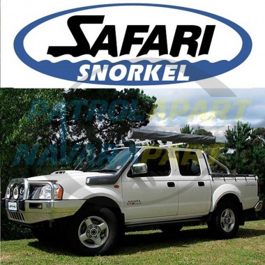 Nissan D22 Navara YD25 Genuine Safari Snorkel Dual Battery