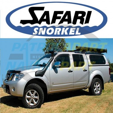 Nissan D40 Navara STX-550 V9X Genuine Safari Snorkel 2011 on