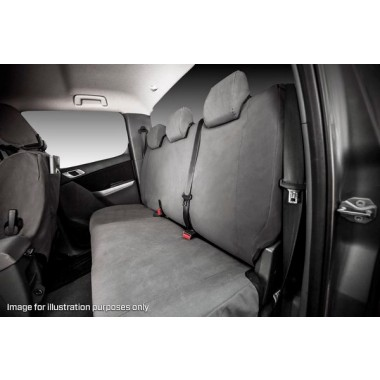 MSA Seat Cover Tradie Nissan Navara NP300 14oz Second Row