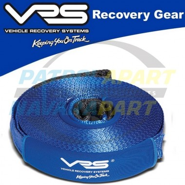 VRS Winch Extension Strap 20m 4500kg for 4wd 4x4 winch
