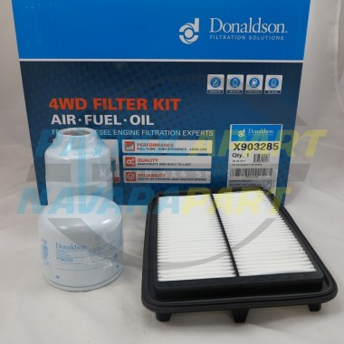 Nissan Navara D40 Thai MNT YD25 Donaldson Air Fuel Oil Filter Kit