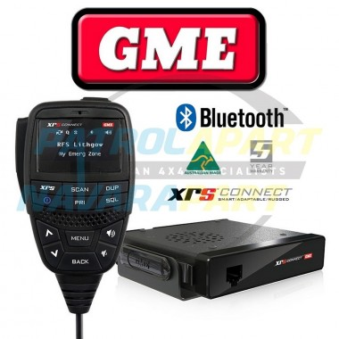 GME XRS Connect 370C Compact UHF CB Radio with Bluetooth
