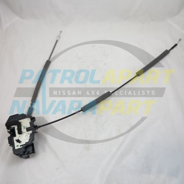 Genuine Nissan Pathfinder R51 LHR Door Lock Mechanism & Cables