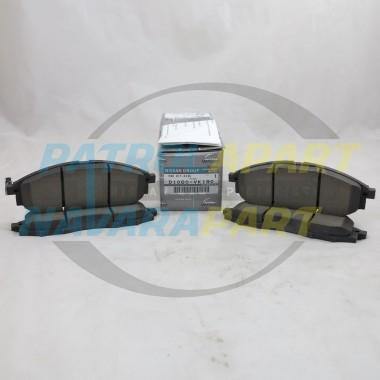 Genuine Nissan Navara D22 4WD ZD30 YD25 VG33 Front Brake Pads