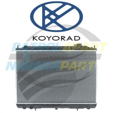 KOYO Radiator suit Nissan Navara D22 YD25DDTI