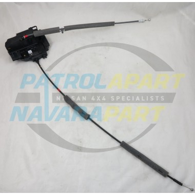 Genuine Nissan Pathfinder R51 RHR Door Lock Mechanism & Cables