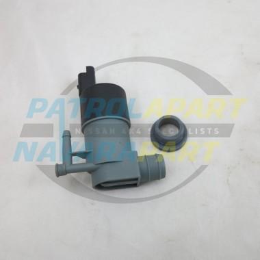 Nissan Navara D40 Spanish YD25 VQ40 V9X Front Washer Pump Motor