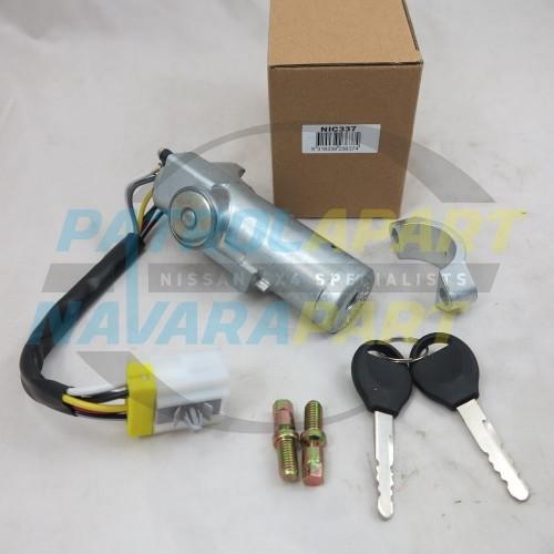 Ignition Switch Barrel & Keys for Nissan Navara D22 03/1997 - 05/2006
