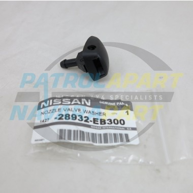 Genuine Nissan Navara D40 R51 Spain Windscreen Washer Bonnet Jet