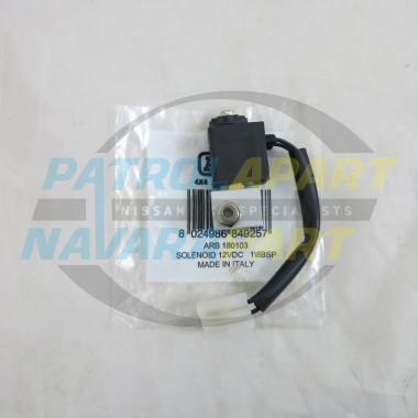 ARB Airlocker Pneumatic Solenoid for Diff Locks Nissan Navara 4wd
