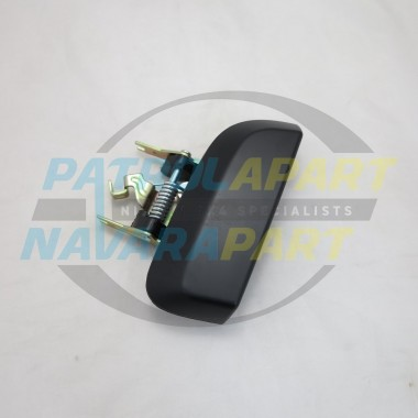 Nissan Pathfinder R51 Left Hand Rear Outer Door Handle Black