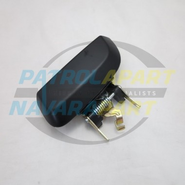 Nissan Pathfinder R51 Right Hand Rear Outer Door Handle Black