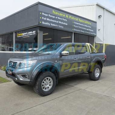 Nissan Navara D23 NP300 Matt Black Bolt On Look Wheel Arch Flares