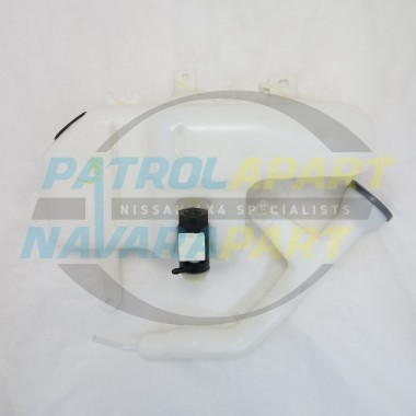 Nissan Navara D22 YD25 Windscreen Washer Bottle & Pump 2008 on