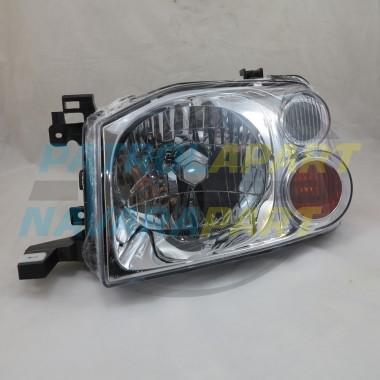 Nissan Navara D22 LH Passenger Side Headlight Lamp 2001-2015