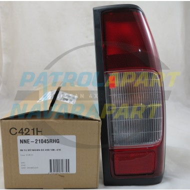 Nissan Navara D22 Dual Cab Tail Light RH Drivers Side 2008 on
